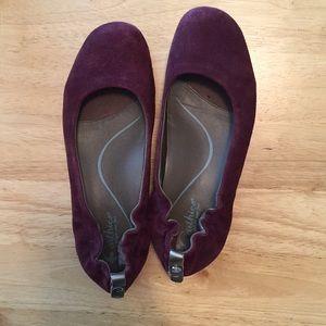 Purple Earthies Tolo ballet Flats
